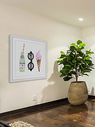 Home Accents Summer Cravings Framed Painting Print, , large