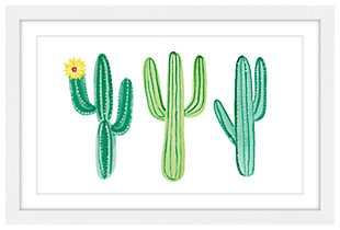Home Accents Cacti Framed Painting Print, , large