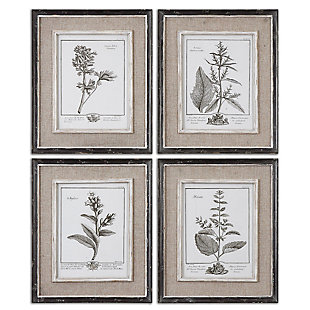Uttermost Casual Grey Study Framed Art Set of 4, , large