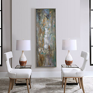 Uttermost Enigma Hand Painted Abstract Art, , rollover