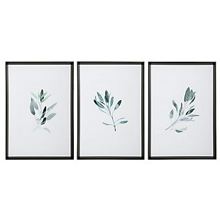 Uttermost Simple Sage Watercolor Prints, Set of 3, , large
