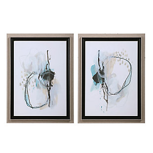 Uttermost Force Reaction Abstract Prints, Set of 2, , large