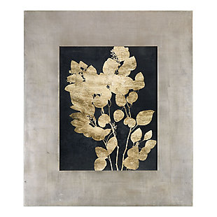 Uttermost Custom Postage Leaves Gold Foil Print, , large