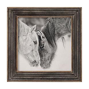 Uttermost Custom Black And White Horses Print, , large