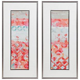 Uttermost Valentine Framed Abstract Prints, Set of 2, , large