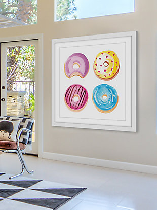 Home Accents Donuts Framed Painting Print, , rollover