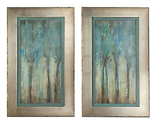 Uttermost Whispering Wind Framed Art, Set of 2, , large
