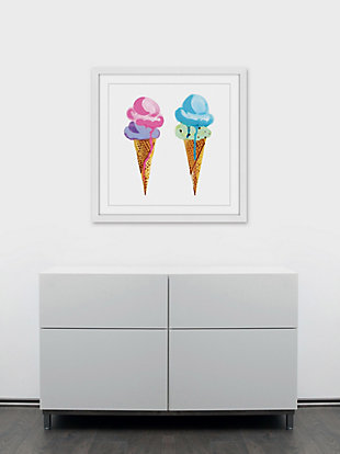 Home Accents Ice Cream Framed Painting Print, , rollover