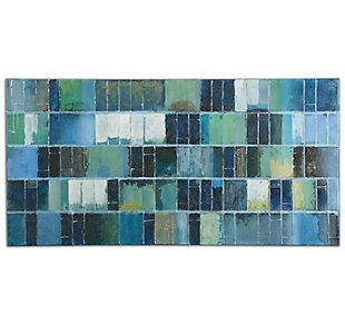 Uttermost Glass Tiles Modern Art, , large