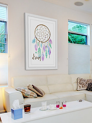 Home Accents Pastel Dreamcatcher Framed Painting Print, , rollover