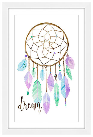 Home Accents Pastel Dreamcatcher Framed Painting Print, , large