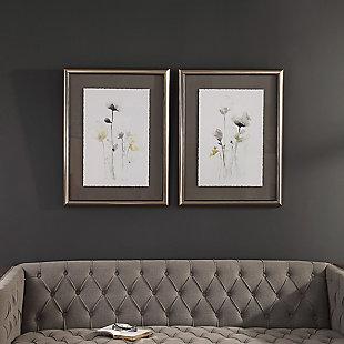 Uttermost Stem Illusion Floral Art, Set of 2, , rollover