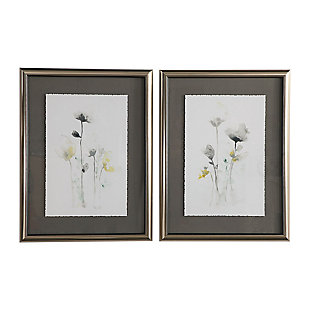 Uttermost Stem Illusion Floral Art, Set of 2, , large