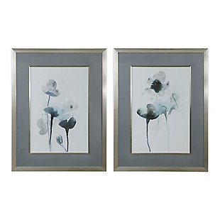 Uttermost Midnight Blossoms Framed Prints Set of 2, , large