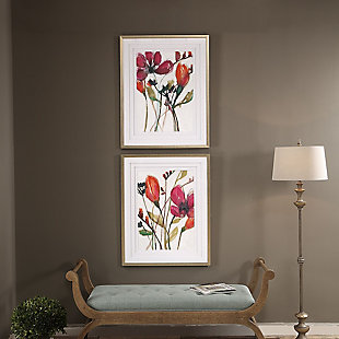 Uttermost Vivid Arrangement Floral Prints, Set of 2, , rollover