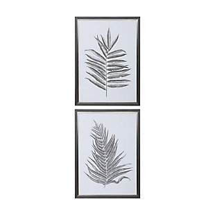 Uttermost Silver Ferns Framed Prints Set of 2, , large