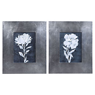 Uttermost Dream Leaves Floral Prints, Set of 2, , large