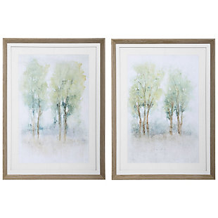 Uttermost Meadow View Framed Prints, Set of 2, , large