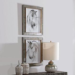 Uttermost Equestrian Watercolor Framed Prints, Set of 2, , rollover
