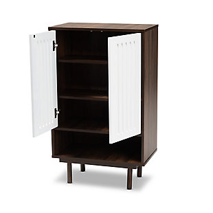 Meike 2-Door Shoe Cabinet, , large