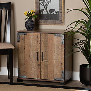 Cyrille 2-Door Shoe Cabinet, , large