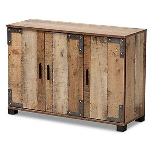 Cyrille 3-Door Shoe Cabinet, , rollover