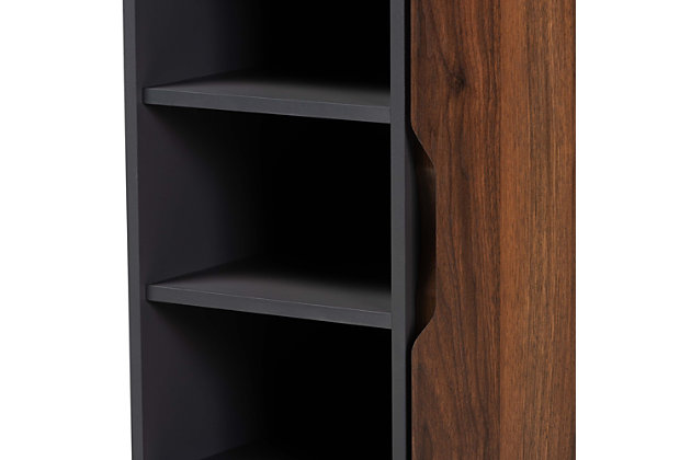 Idina 1-Door Shoe Cabinet, , large