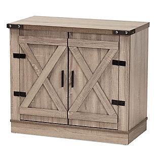 Wayne 2-Door Shoe Storage Cabinet, , rollover