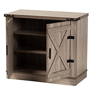 Wayne 2-Door Shoe Storage Cabinet, , large