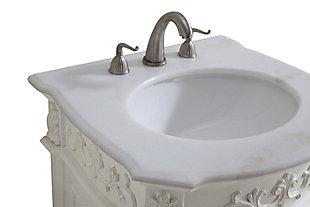 "Danville 24"" Single Bathroom Vanity Set, Antique White, large"