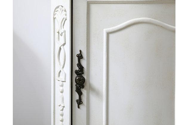 "Danville 19"" Single Bathroom Vanity Set, Antique White, large"