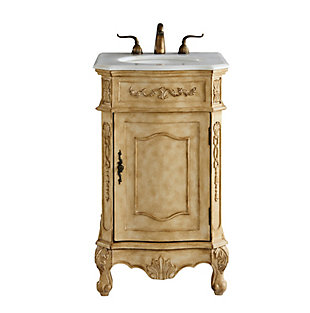 "Danville 21"" Single Bathroom Vanity Set, Antique Beige, large"