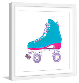 Home Accents Skate Framed Painting Print, , large