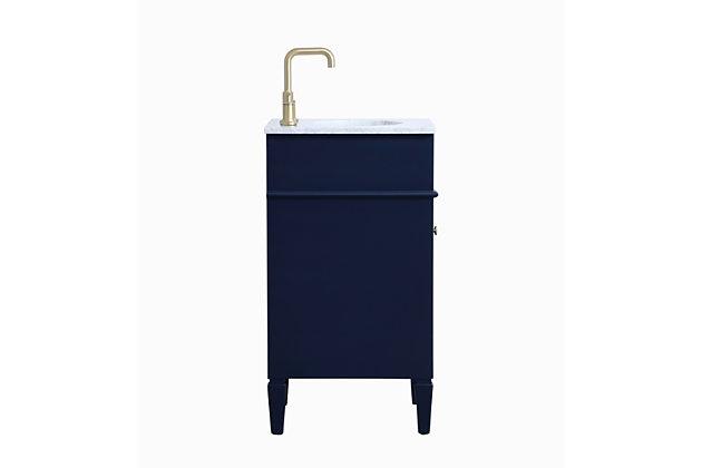"""Otto 18"""" Single Bathroom Vanity, Blue, large"""