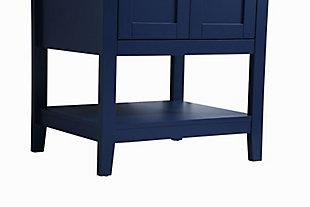 """Aubrey 24"""" Single Bathroom Vanity, Blue, large"""