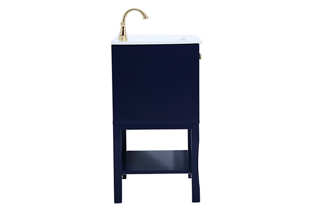 """Mason 24"""" Bathroom Vanity, Blue, large"""