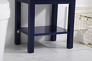 """Mason 17.5"""" Bathroom Vanity, Blue, large"""