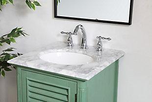 "Rhodes 19"" Single Bathroom Vanity, Vintage Mint, large"
