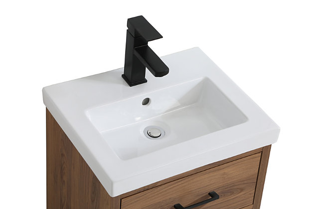 """Boise  18"""" Bathroom Vanity, Walnut Brown, large"""