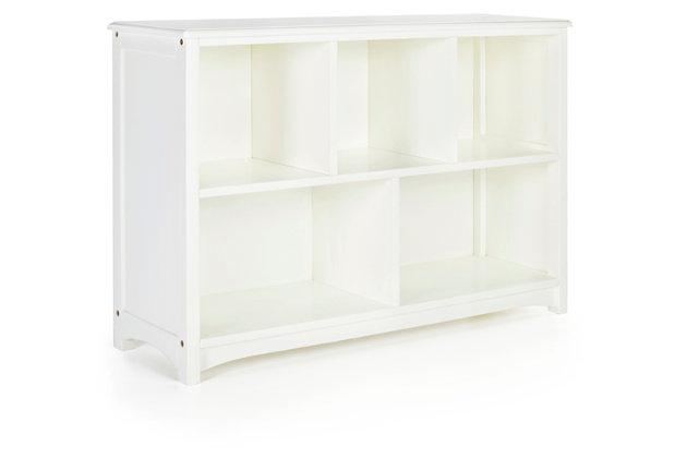 Classic White Bookshelf, , large