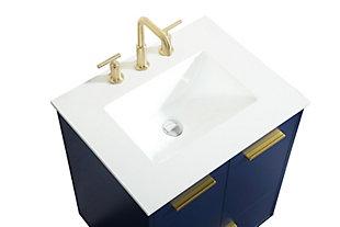 "Baldwin 24"" Bathroom Vanity, Blue, large"
