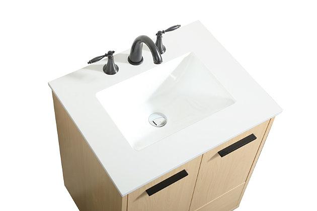 """Baldwin 24"""" Bathroom Vanity, Maple, large"""