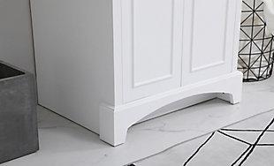 "Hampson 24"" Bathroom Vanity, White, large"