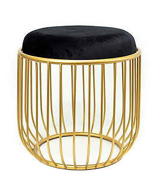 A Touch of Design Alana Round End Table/Accent Stool, , large