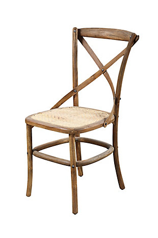 A Touch of Design Cornelis Teak Wood Side Chair, , rollover