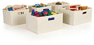 Home Accents Tan Storage Bins  (Set of 5), , large