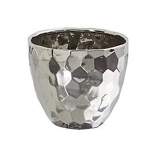 """6.75"""" Designer Silver Bowl, , large"""
