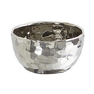 """8.75"""" Designer Silver Bowl, , large"""