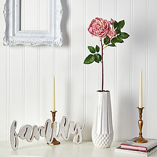 "22"" Rose Artificial Flower (Set of 6), , rollover"