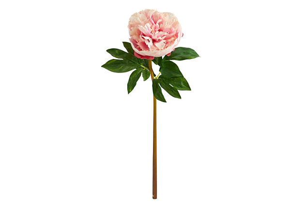 """20"""" Peony Artificial Flower (Set of 3), , large"""